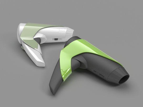 Portable Hair dryer on Behance
