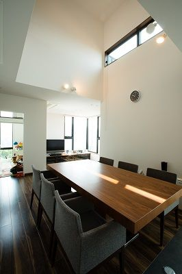 子供と共に育つ家 | 神戸市 | リビング | 採光窓 | 建築・設計 | デザイン | インテリア | 注文住宅 | TIDE.(株式会社タイド)
