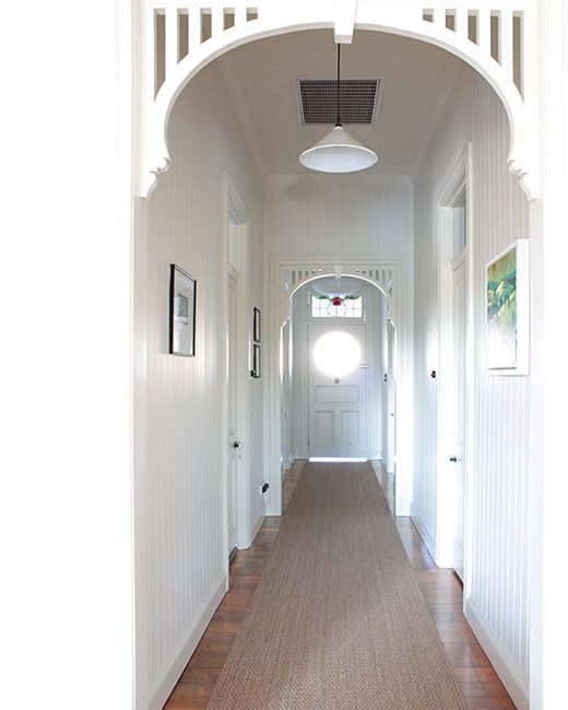 Hallway Love The White Timber Panelling Throughout And