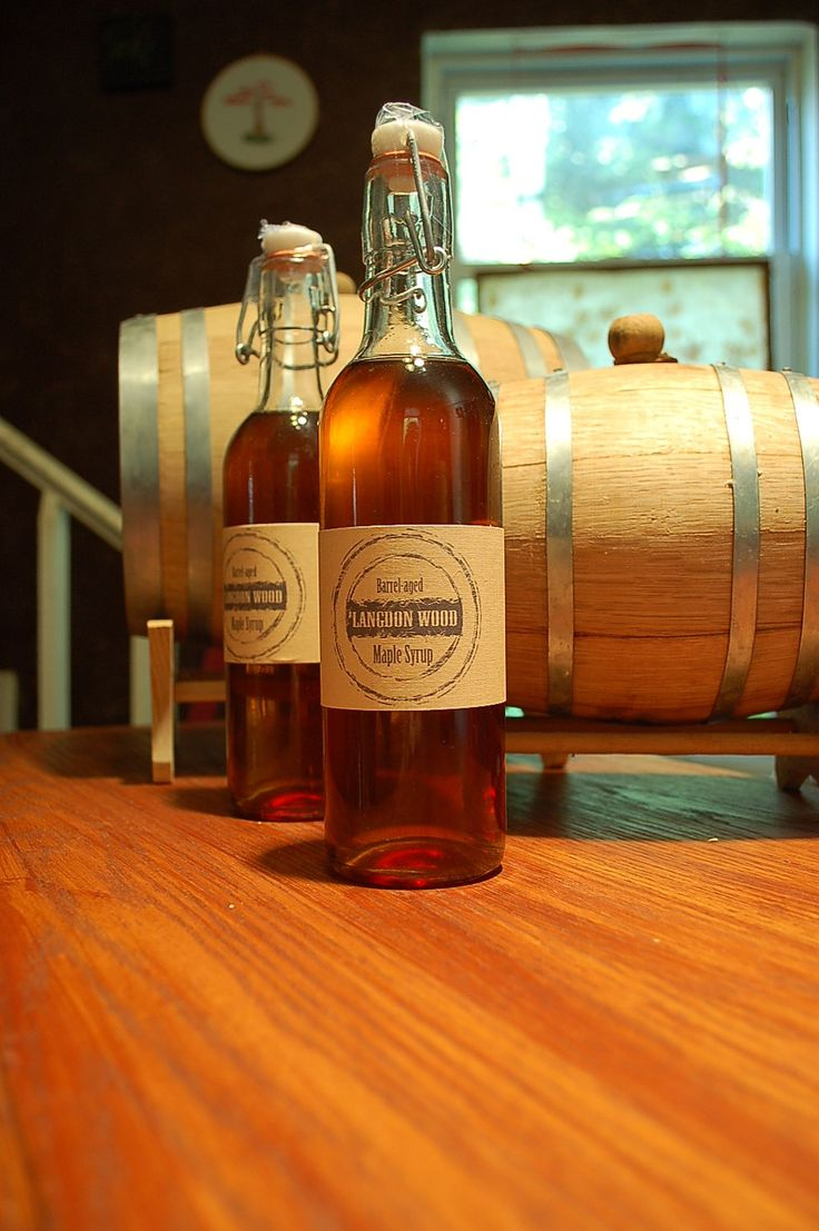 3 Bottles of Barrel Aged Maple Syrup. $48.00, via Etsy. Made from Pennsylvania maple syrup aged in Catoctin Creek whiskey barrels. Yum!: Gift, Barrel Aged Maple, Etsy, Whiskey Barrels, Langdon Wood, Langdonwood, Bottles, Maple Syrup, Wood Barrel Aged