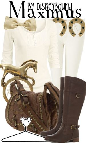 Maximus (the horse) outfit