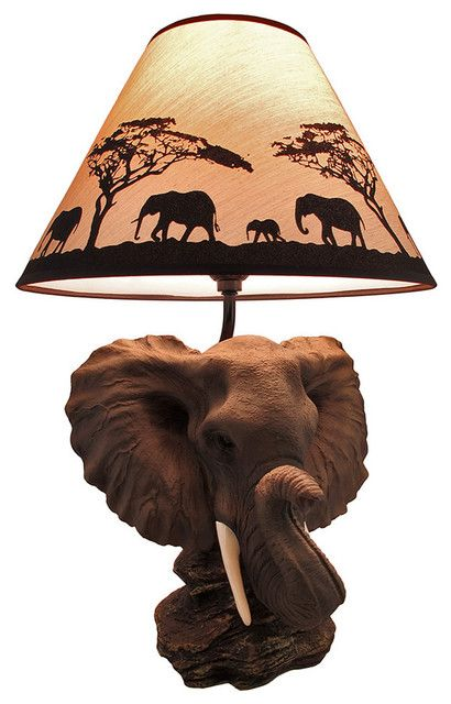 10 Best Images About African Art Lamps On Pinterest Wood