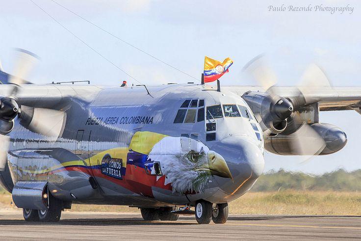 C-130 Fuerza Aerea Colombiana