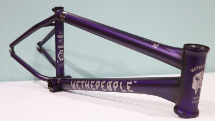Jordan Godwin's signature We The People Battleship frame in Matte Trans Purple 🔥🔥🔥  #BMX #losangeles #bmxshop #bmxstreet #bmxlife #ridebmx #wethepeoplebmx