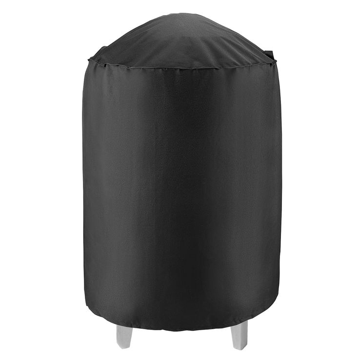 """Unicook Heavy Duty Waterproof Dome Smoker Cover, 30""""Dia by 36""""H,Kettle Grill Cover, Barrel Cover,Water Smoker Cover,Fit Grill/Smoker for Weber Char-Broil and more"""