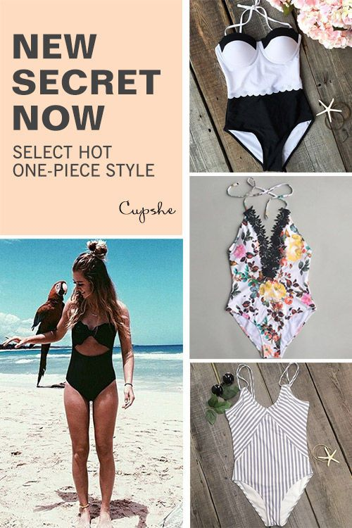 Start with Only $7.99 ! Free shipping as well! These flattery bikinis are chic must-have of the year! Your perfect option for a hot summer vacation! Listen! The sea is calling! Get our fantastic one-pieces ready with you at Cupshe.com !