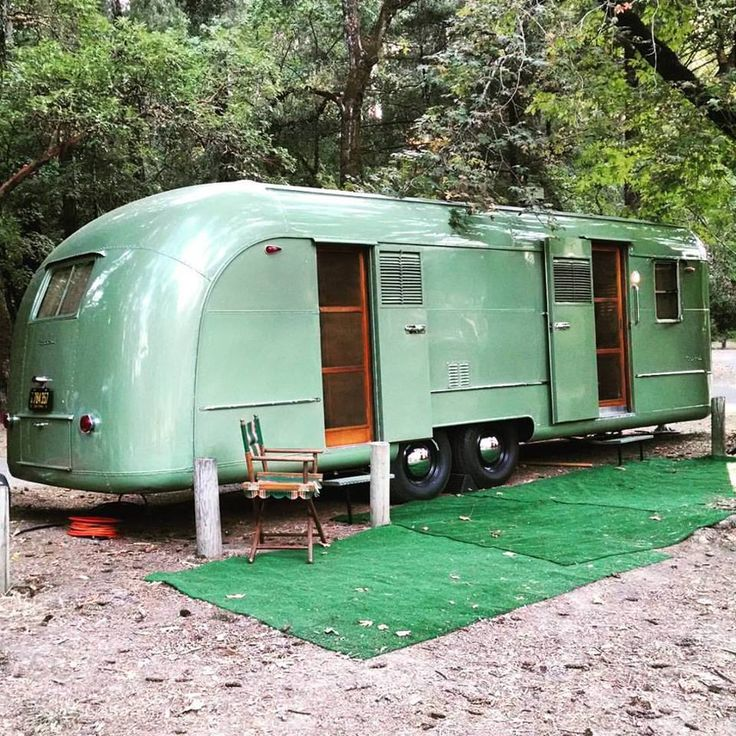 Green Vagabond - Vintage Camper Trailers                                                                                                                                                                                 More