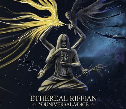ETHEREAL RIFFIAN - Youniversal Voice (live album) & I AM. Deathless (EP)    #new album #album release #album review #psychedelic rock #stoner rock #doom rock #progressive rock #ethereal riffian