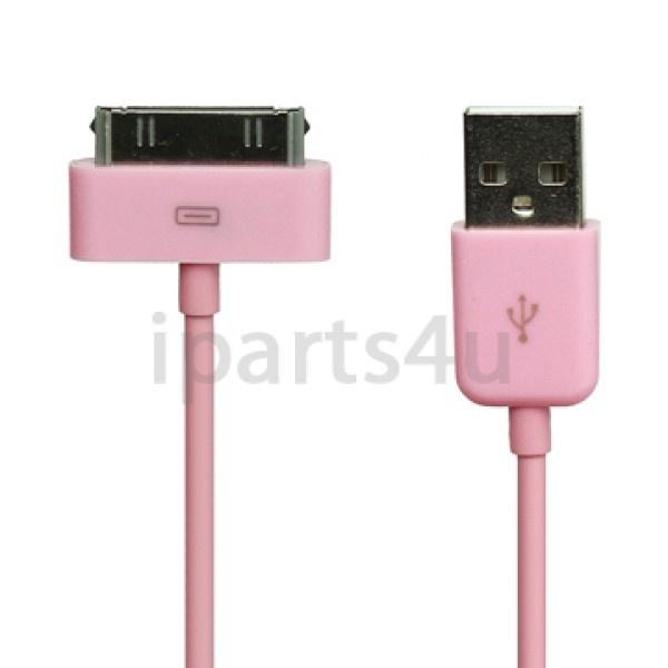 Dock Connector-auf-USB-Kabel iPad, iPod und iPhone Pink iPad Zubehör, iPhone Zubehör und iPod Zubehör || Gut und Billig
