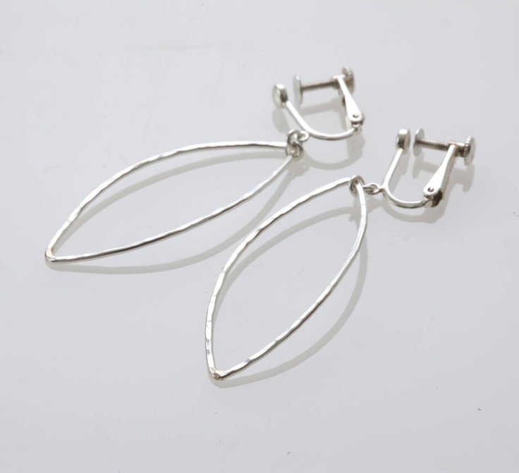 Mirisa/Silver Leaf  イヤリング 10500yen 【当店限定】葉っぱをイメージした透明感溢れるイヤリング