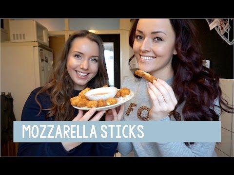 Mozzarella sticks met Mascha - Foodgloss - YouTube