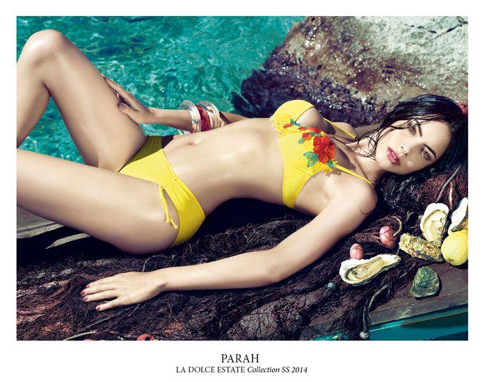 #bikini #parah #swimsuit #color #spring #summer #2014 #sea #sun #beach #beachwear www.parah.com