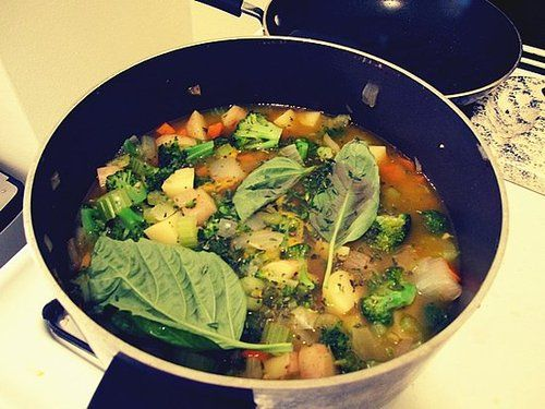 Vegan Vegetable Soup Recipe   POPSUGAR Fitness