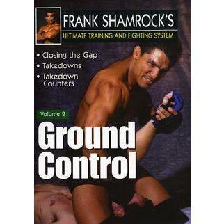 Frank Shamrock Training & Fighting #2 Ground Control DVD MMA Grappling nhb