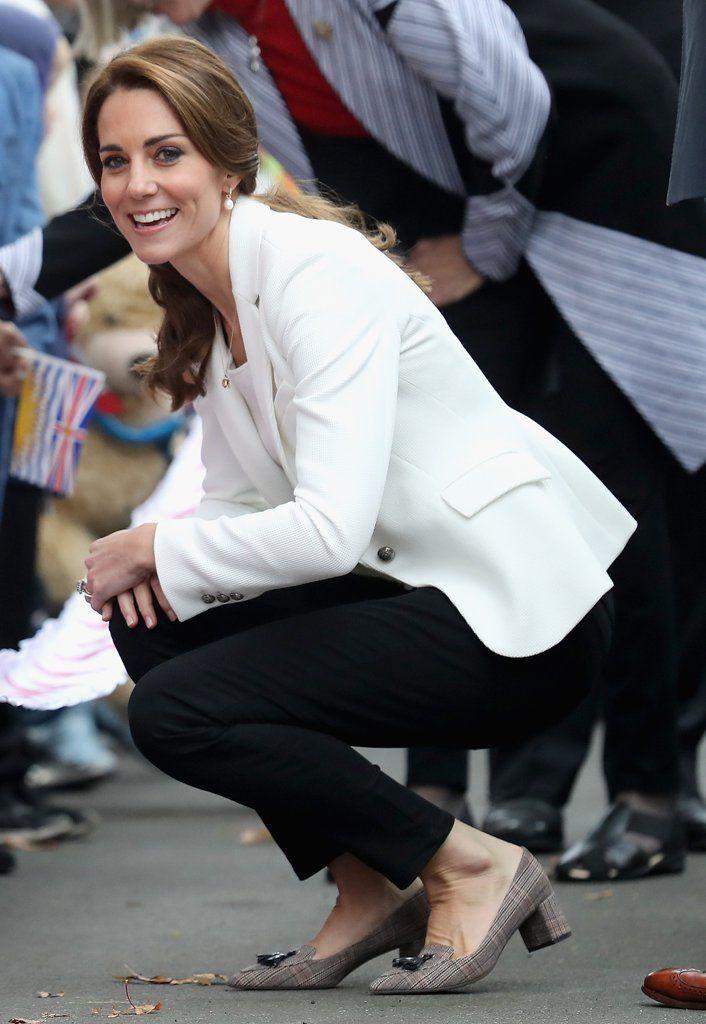 Kate Middleton Wearing Zara Jeans and Blazer in Canada 2016 | POPSUGAR Fashion