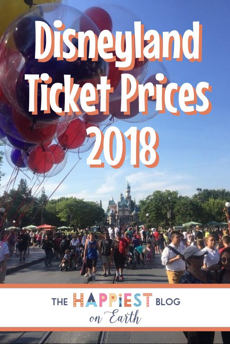Compare Disneyland Ticket Prices 2018