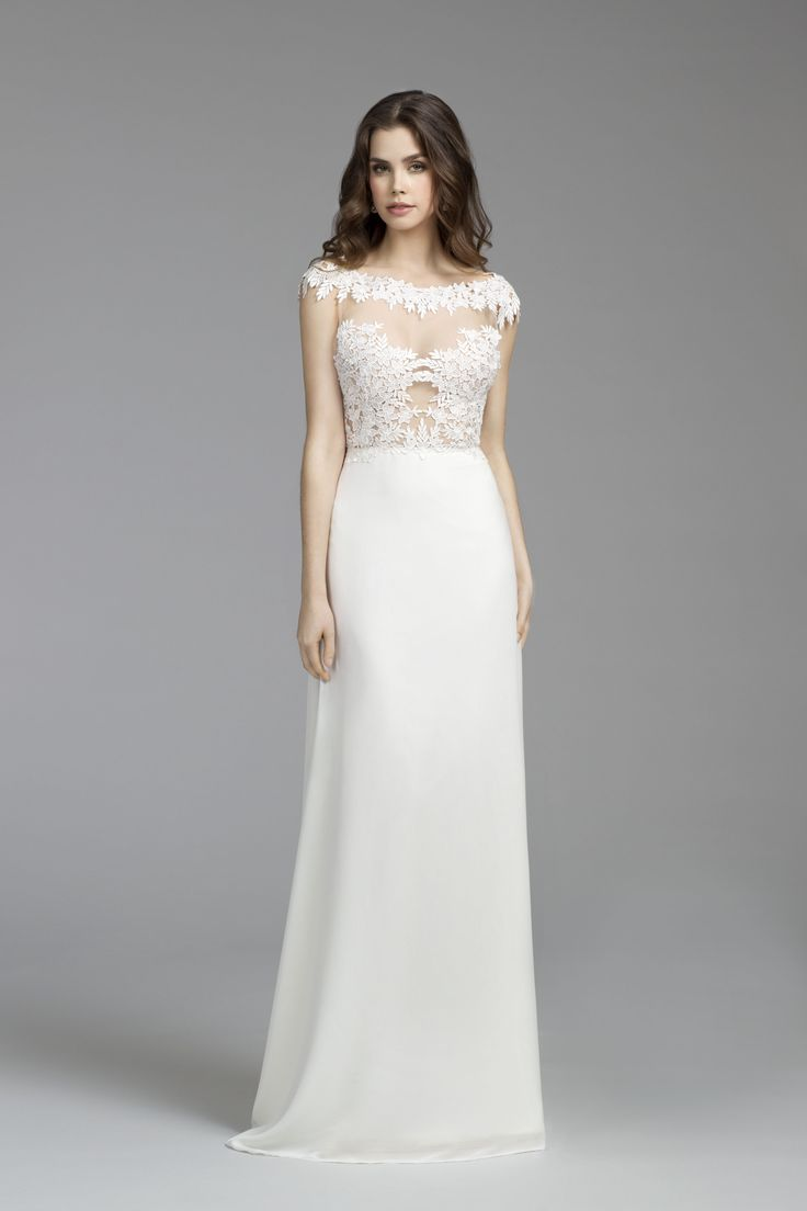 274 best Wedding Gowns images on Pinterest | Wedding frocks ...