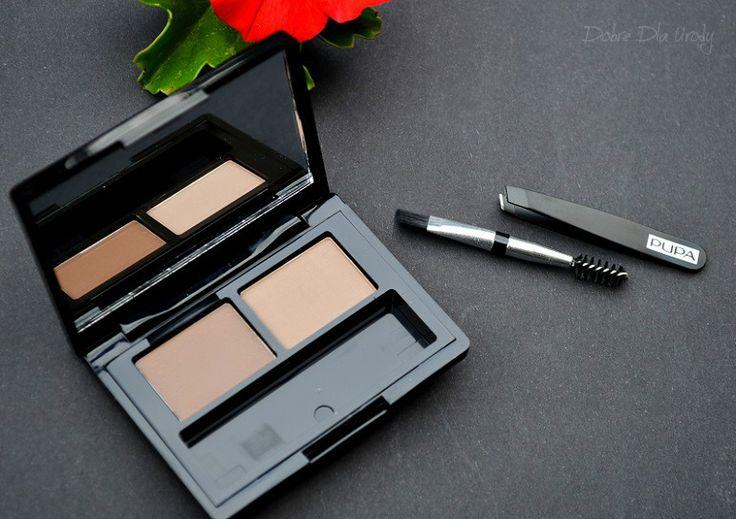 PUPA Eyebrow Design Set 002 Brown – Zestaw do stylizacji brwi w kasetce