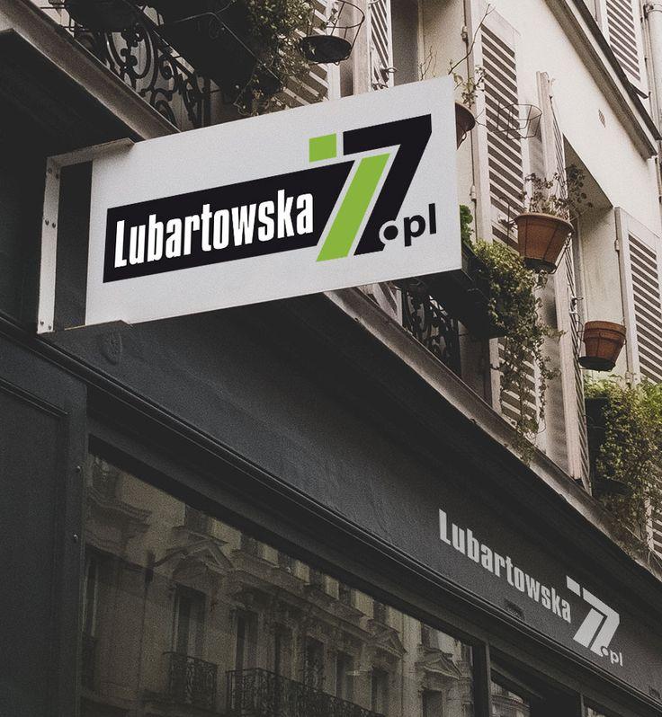 Lubartowska 77   Logo design