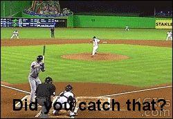 did you catch that?... haha uh-yep