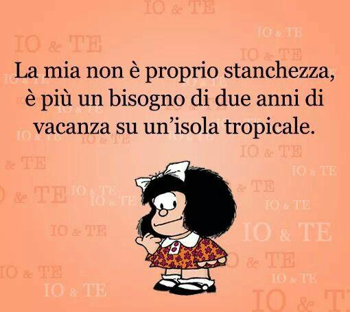 Mafalda e l'isola tropicale