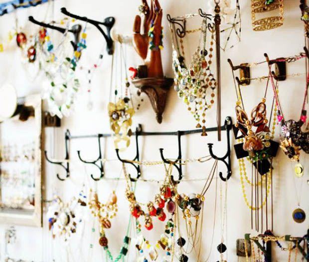 10 ideas to organize your jewelry