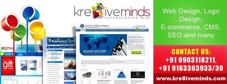 Web Design, Logo Design, E-commerce, CMS, SEO & Other service