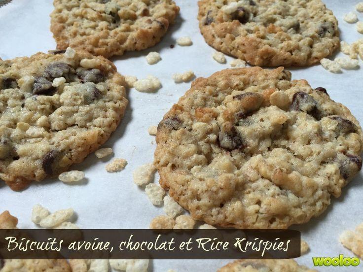 Une recette de biscuits aux Rice Krispies!
