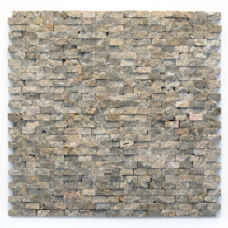 Wall X Mosaic Natural Opera 12 Modern Tile Marble Stone Solistone 12
