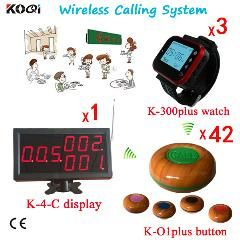 [ $74 OFF ] Restaurant Guest Calling Service System Quiz Bell Buzzer Ce Passed Show Digit Number Table Buzzer Equipment