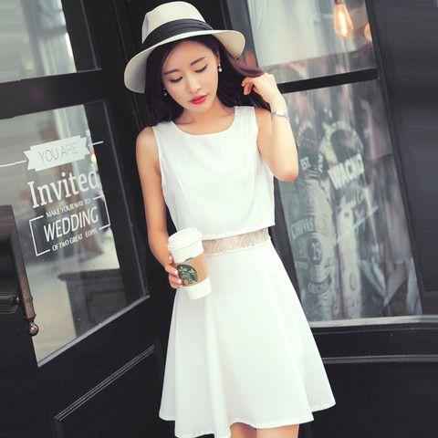 Robes et jupes robe estivale blanche shiro mode japonaise mikatani - Mode japonaise paris ...