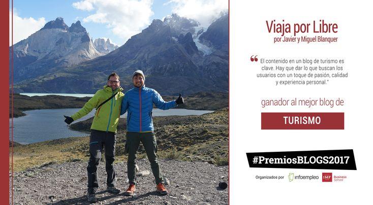 Con más de160.000 visitas únicas mensualesy más de70.000 seguidoresen sus redes sociales, y ganadores a mejor blog de Turismo en los #PremiosBlogs2017