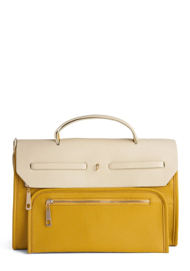 VIDA Statement Bag - Lemon Bag by VIDA xYxPrUd0