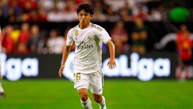 Real Madrid Receive An Offer Not To Be Rejected From Paris To Include Kubo In 2020 Real Madrid Real Madrid Players Madrid