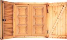 Ventanas de Madera | Precios desde 60€ | Catálogo | PuertasAngelyRamon.es