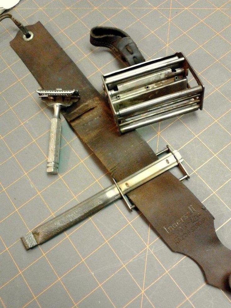 Antique Brandt S Amp Ingersoll Automatic Razor Stropper W