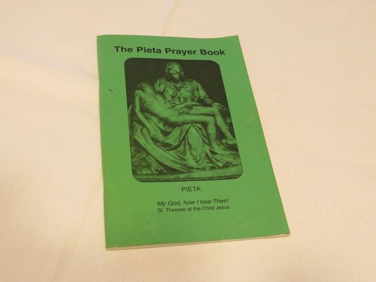 The Pieta Prayer Book St. Therese Of the Child Jesus RARE MLOR Lady of Roses