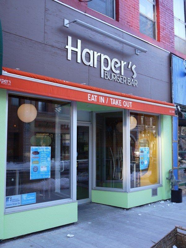 Harpers Burger Bar