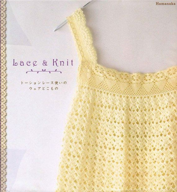 Japanese crochet books crochet clothes toys by LibraryPatterns
