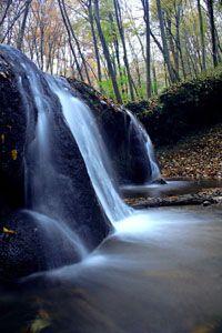 Mecsek Hill Waterfall