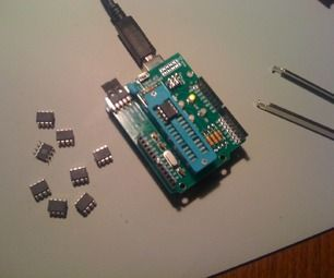 This is how to hack an Evil Mad Scientists Lab Arduino ISP Shield  so that you can use the Arduino environment to program some nifty little microcont...