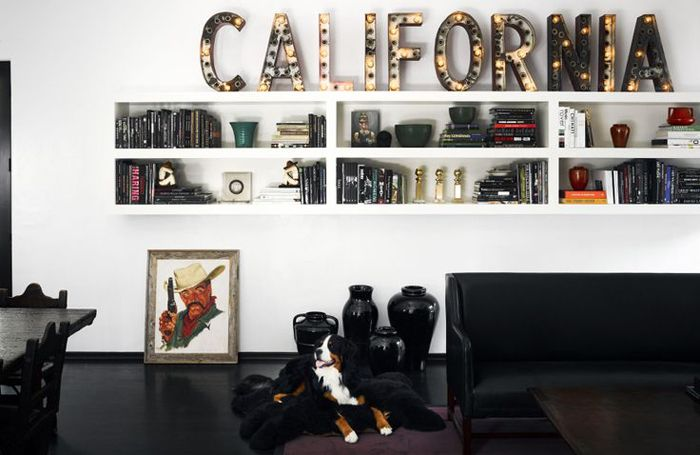 Bringing color into your home with art | Song of Style