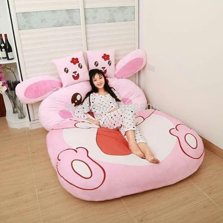 Peluche gigante (cama)
