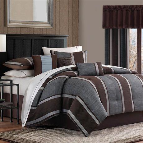 Best 42 Best Masculine Bedrooms Images On Pinterest Comforter 640 x 480