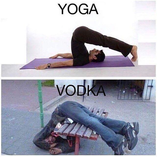 """Yoga/Vodka"""