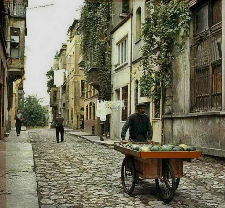 streets of Istanbul 1972