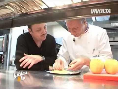 Recette de la tarte fine aux pommes par Vivolta