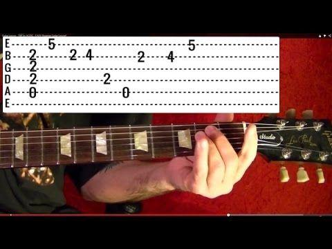 FAST ARPEGGIOS!! Guitar Lesson - YouTube