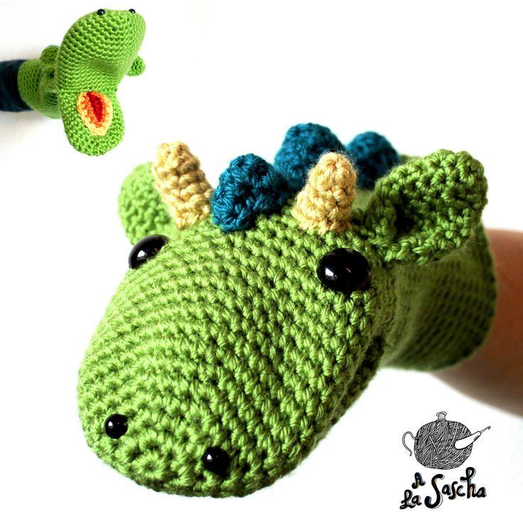 Ravelry: Dragon Puppet pattern by A la Sascha