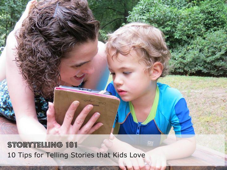 Storytelling 101: 10 Tips for Telling Stories Your Kid Will Love. #readforgood